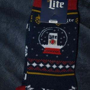 Miller Lite Socks